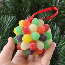 gorgeous yet simple gumdrop ornaments at spark a