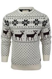 christmas jumper mens christmas jumper by soul ebay