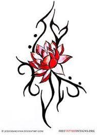 maori lotus tribal lotus flower meaning tattoos