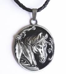 horse necklace pendant images Native american indian horse necklace jewelry jpg