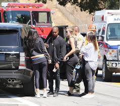 drake rolls royce views kylie khloe and kanye rush to the crash scene as kris jenner is