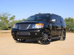 nissan armada on 26 inch rims 24 inch rims for nissan armada