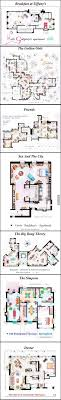 floor plans homes 13 incredibly detailed floor plans of the most tv show