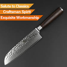 japan kitchen knives xinzuo 7 inch santoku knife japan vg10 damascus stainless steel