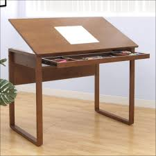 Foldable Drafting Table Coffee Accent Tables Build A Drafting Table On Your Own How To