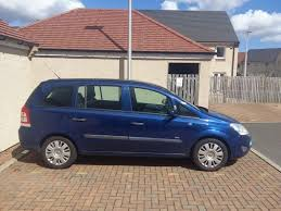 2009 vauxhall zafira 1 6l 5 door 7 seater aa approved manual