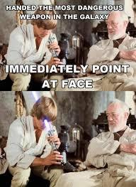 Lightsaber Meme - lightsaber to the face imgur