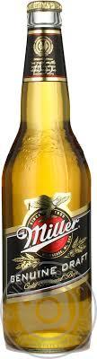 miller genuine draft light beer miller genuine draft bottle alc 4 7 0 5l drinks 18