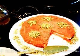 cuisine libanaise traditionnelle knafeh patisserie libanaise les joyaux de sherazade