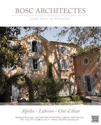 bosc architectes saint remy de provence mas et bastide monuments