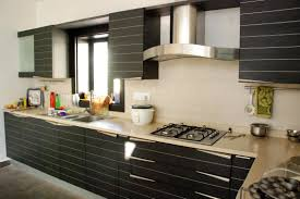 Modular Kitchen Furniture Inspiring Ideas Of Modular Kitchen With Grey Color Gloss Kitchen