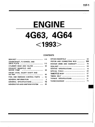 mitsubishi 4g63 u0026 4g64 engine throttle distributor