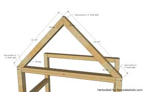 a frame cabin plans free remodelaholic diy house frame bookshelf plans