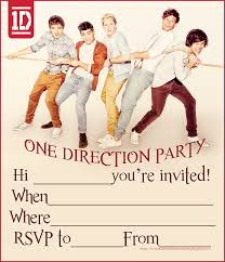 1d one direction party invitations free png 932 1 082 pixels