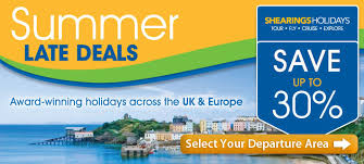 shearings summer late deals coach holidays