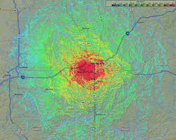 Springfield Map Coverage Map Springfield West Rptr Smlrs