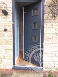 Green Upvc Front Doors by Amazing Composite Front Door Upvc Green Colour Composite Front