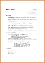 resume exles music resume exle resume exle essay sle musical theatre resume musical theatre resume exles
