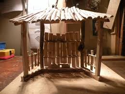 tabletop nativity stable by skone lumberjocks