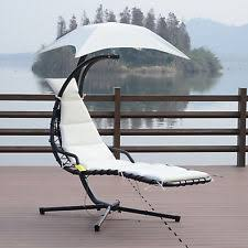 hammock lounger hanging chair stand swing pool outdoor living