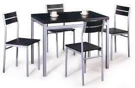 table de cuisine 4 chaises pas cher chaise de cuisine moderne association couleur bleu chambre cuisine