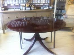 maison decor mahogany table gets the weathered grey belgian look