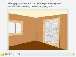 pitturare soffitto tinteggiatura pareti come fare preparazione e pittura fai da te