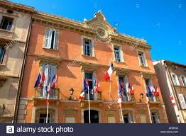 st tropez provence hotel de ville stock photo royalty free image