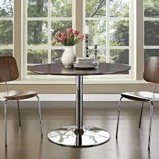 Modern Dining Room Furniture Amazon Com Modway The Rostrum Dining Table In Walnut Tables