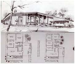 Midcentury Modern House Plans - 1964 mid century modern house plans luxihome