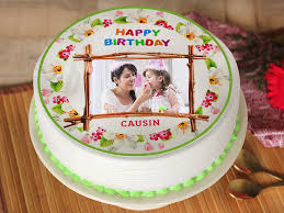 photo cake birthday photo cake 5 shape floral birthday photo cake