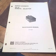 narco rs 42 remote selector install manual u2022 64 86 picclick