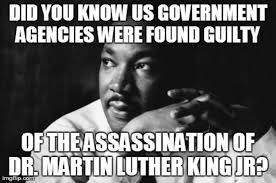 Martin Luther King Meme - fact check was the u s government found guilty of assassinating