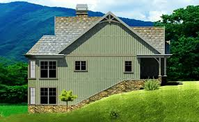 Small Farmhouse House Plans Small Cottage Plan With Walkout Basement Cottage Floor Plan