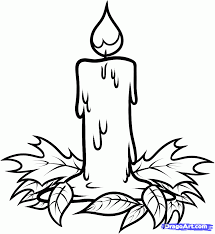 Easy Halloween Pictures To Draw How To Draw A Halloween Candle Step By Step Halloween Seasonal
