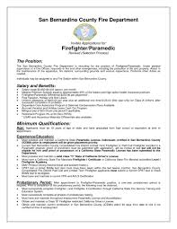 Best Resume Job Descriptions by Firefighter Job Description For Resume Resume Examples 2017