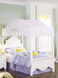 Whimsical Bedroom Ideas by Nice White Canopy Bed Curtain Installing White Canopy Bed