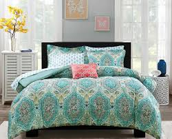 bedding set beautiful blue and green bedding sets trina turk