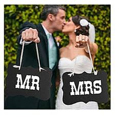 photo booth for weddings free shipping diy black mr mrs paper board ribbon sign photo booth