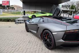 Matte Black Lamborghini Aventador - photoshoot lamborghini aventador pirelli edition