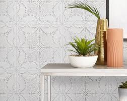 best repositionable wallpaper removable wallpaper etsy