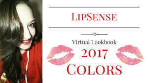 Color Of 2017 by Every Color Of Lipsense By Senegence All Colors Of 2017 Youtube