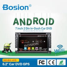 bosion android 6 0 1 touch screen double din car gps dvd for
