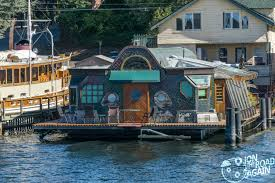 Sleepless In Seattle Houseboat by Lake Union Boat Cruise With Argosy Jon The Road Again Travel