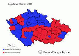 2004 Election Map by Czech Republic Legislative Election 2006 Electoral Geography 2 0