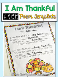 free thanksgiving poem template thanksgiving poems