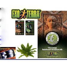 exo terra terrarium congo rainforest amazing amazon