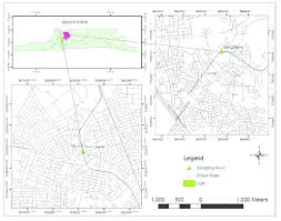 lagos city map map of the lagos city showing mushin idi oro and mile 12 plantain