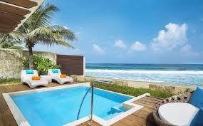Maldives Cottages On Water by Luxury Ocean Pool Villas Sheraton Maldives Resort