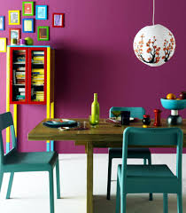 bright colour interior design colourful dining room with bright colors interior design ideas